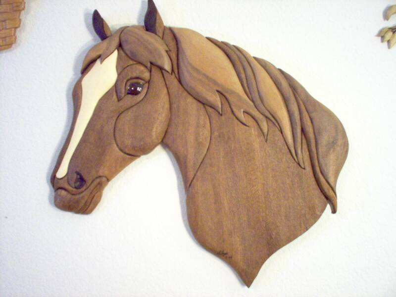 Pin Woodworking Intarsia Horse Patterns Free on Pinterest